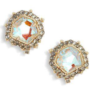 Kendra Scott Abelia Earrings Gold Pre-owned